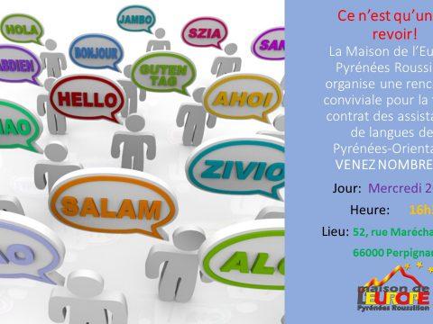 rencontre assistants de langues